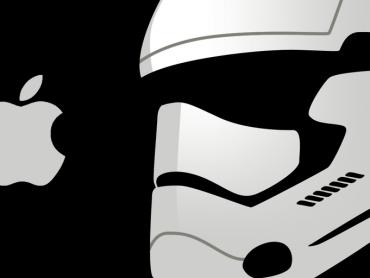 新スター・ウォーズのストームトルーパーのデザイン、アップルに影響を受けた事が明らかに