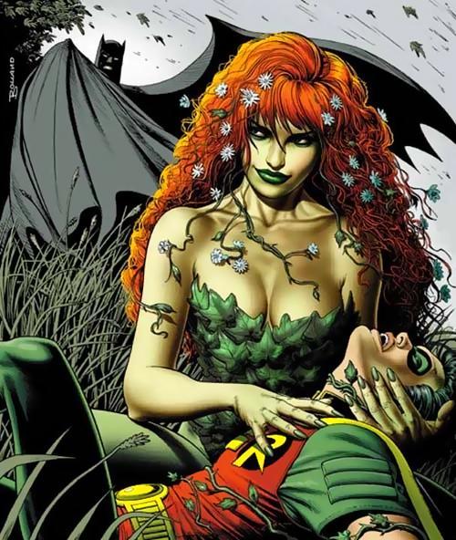ポイズンアイビー DCコミック バットマンのヴィランです。