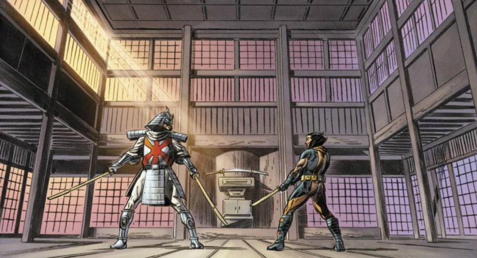 シルバーサムライとウルヴァリンの決闘