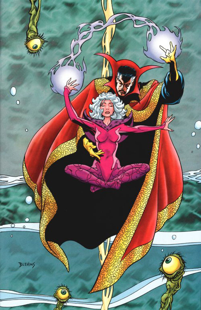 Clea_&_Stephen_Strange_(Earth-616)