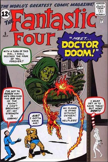 ドクター・ドゥーム 初登場は1961年