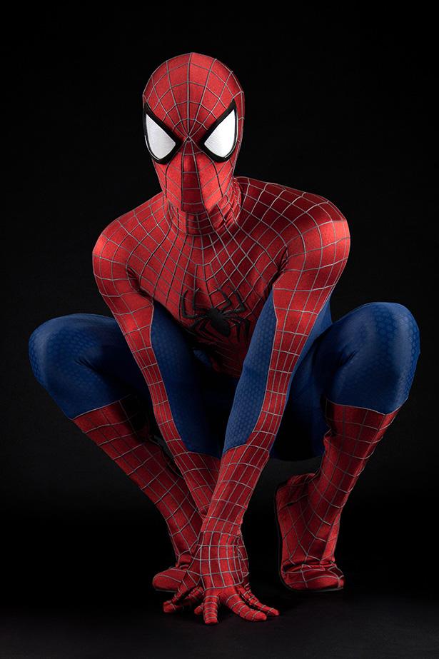 ディズニーランドのスパイダーマン