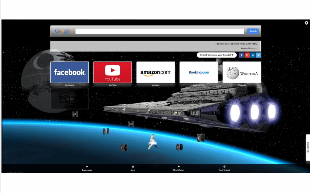 star wars new tab