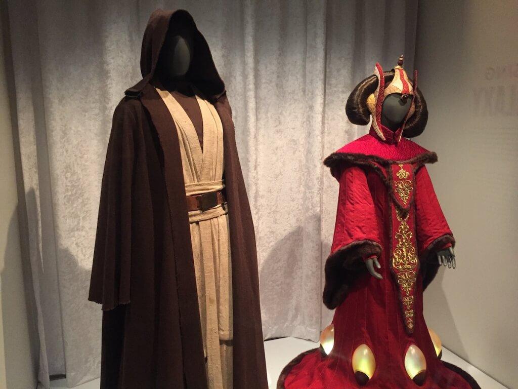 ベン・ケノービとアミダラ姫の衣装