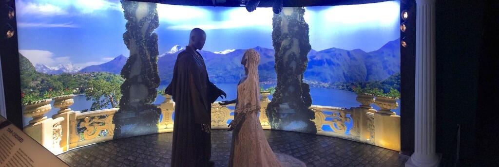 アナキンとパドメの婚約シーン