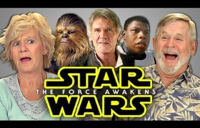 Elders React star wars