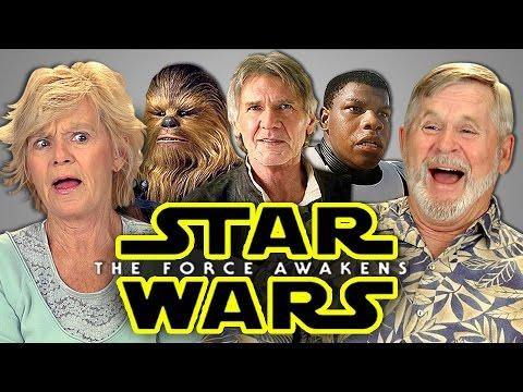 Elders React star wars