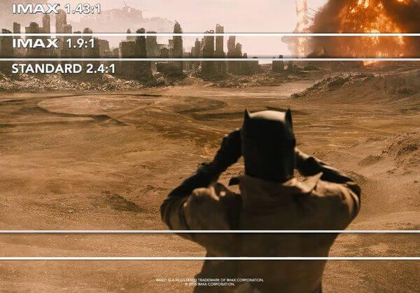バットマンvsスーパーマンはIMAXで観よう!