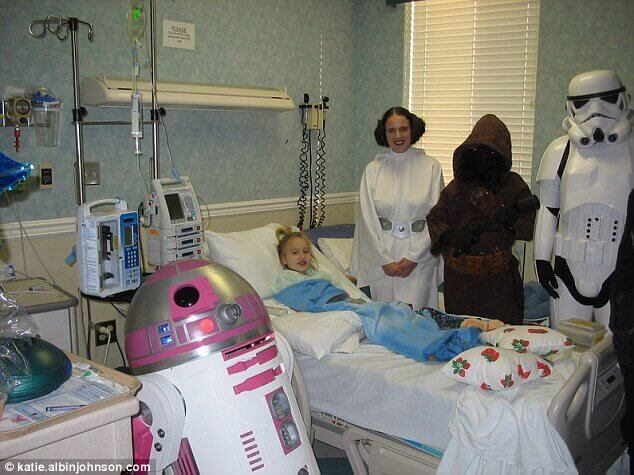 http://www.dailymail.co.uk/news/article-3338555/Upcoming-Star-Wars-film-feature-new-character-R2-KT-father-s-touching-gift-daughter-died-brain-tumor.html
