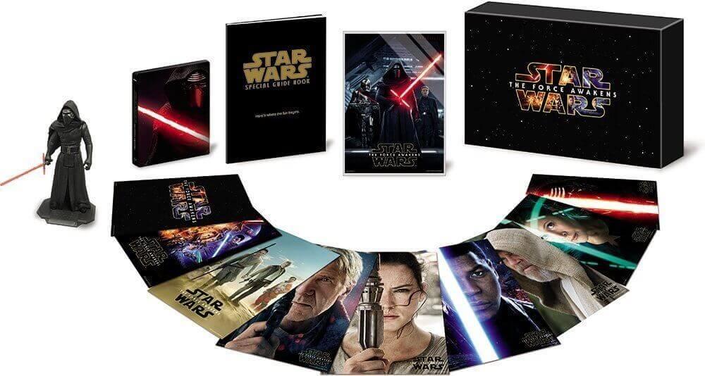 スターウォーズ フォースの覚醒 DVD Blu-ray