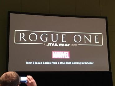『スターウォーズ / ローグ・ワン』映画より先にコミック版が発売される事が判明
