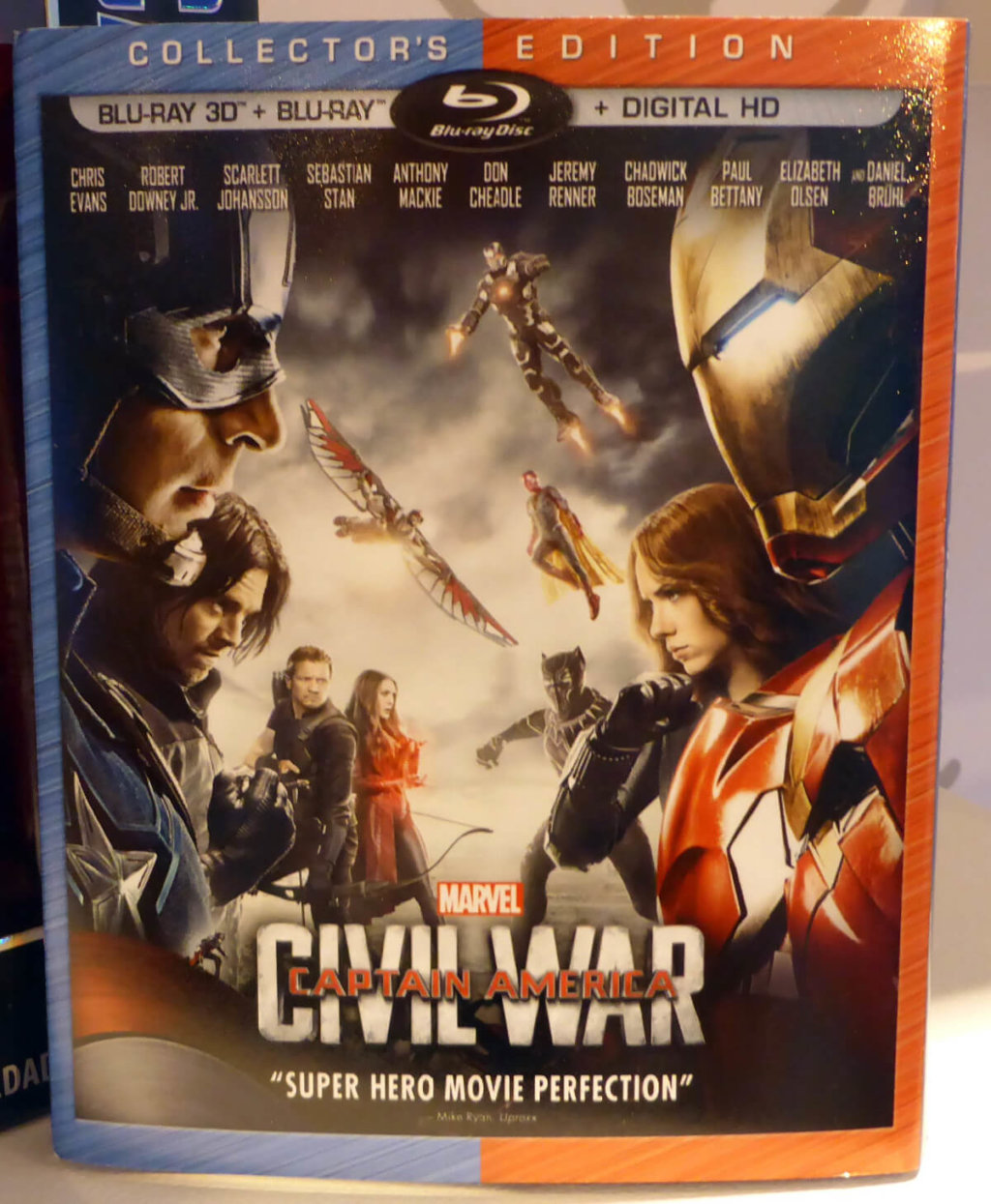 『シビルウォー』Blu-ray DVD