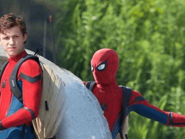 『スパイダーマン : ホームカミング』セットより、スーツ姿のスパイダーマン写真がリーク