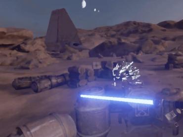 【プレイ動画あり】VR版スターウォーズ『Trials on Tatooine』実際にやってみた!【体験レポート】