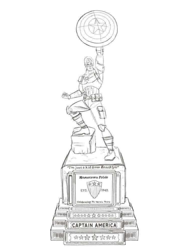 cap-statue