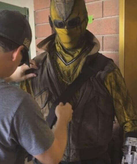 http://comicbook.com/2016/09/05/spider-man-homecoming---first-look-at-shocker-on-set/