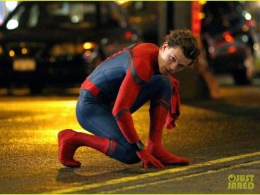 『スパイダーマン ホームカミング』撮影はNYへ!現場写真が新たに到着、キティちゃんパジャマ姿も