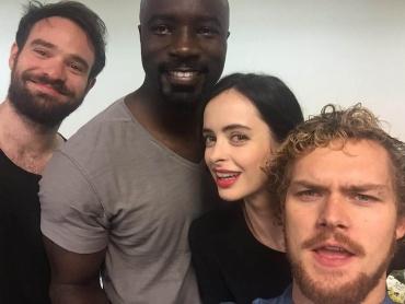 マーベル&Netflixの集大成!ドラマ『ディフェンダーズ』悪役はシガニー・ウィーバー!コミコンにヒーロー全員集合