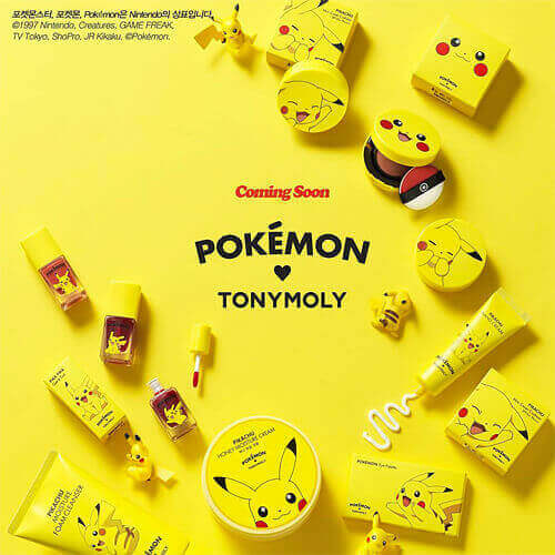 TONY MOLY POKEMON