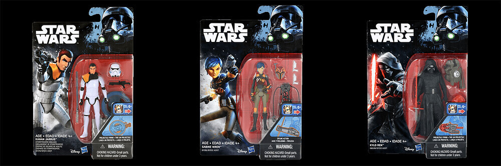 Rogue One 3.75 Toys