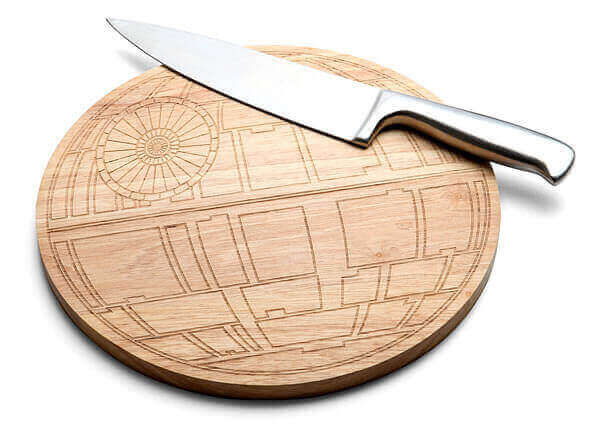 Star Wars Death Star Wooden Cutting Board