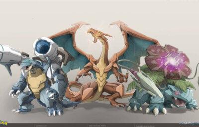 Hybrid Pokemon Fanart