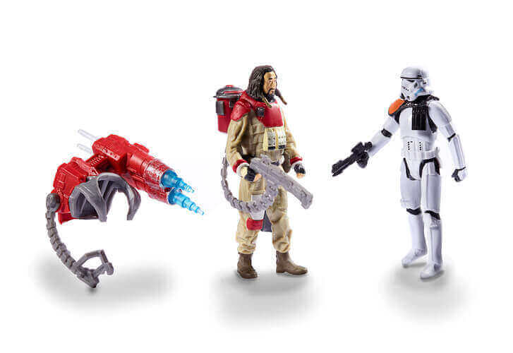 Baze Malbus and Stortmtrooper 2-Pack