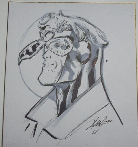大変に大らかで優しいケン・ラシュリーが描いたブースターゴールドとスキーツ