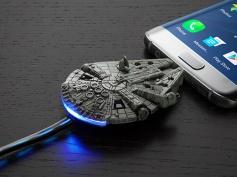 【銀河系最速充電】『スター・ウォーズ』ミレニアム・ファルコン型のMicroUSBケーブルが登場!