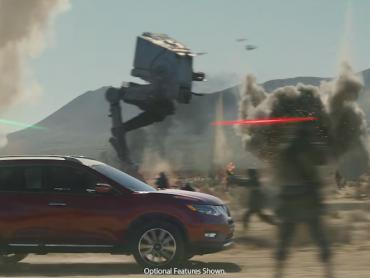 『ローグ・ワン』の戦地をNISSAN車が駆け抜ける!ローグ・ワン地上戦をいち早く味わえるスペシャルCMが公開に