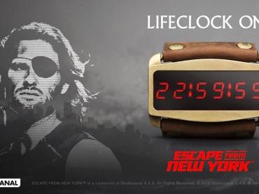 タイムリミットは23時間!『ニューヨーク1997』のスネーク・プリスキン仕様、死へのカウントダウン時計が商品化!