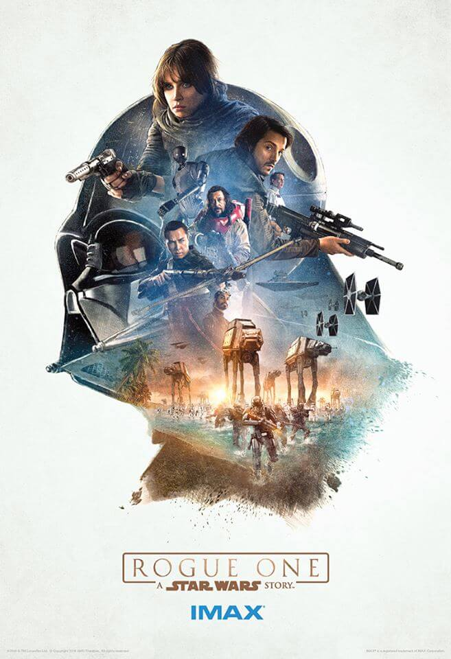 反乱軍とダース・ベイダー。 http://www.cosmicbooknews.com/content/four-imax-star-wars-rogue-one-posters