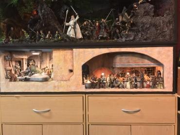 棚の中に映画のワンシーンをギュギュっと再現!コレが噂の『棚ジオラマ・アート』!