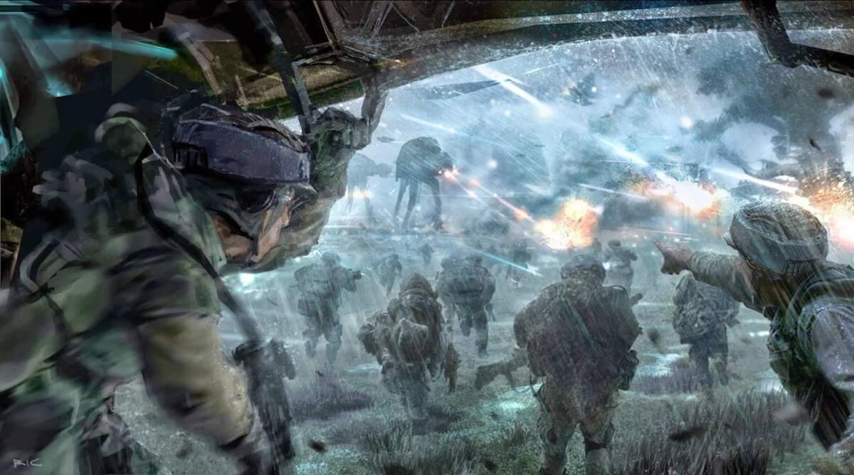 コンセプトアートより http://www.slashfilm.com/star-wars-rogue-one-concept-art/