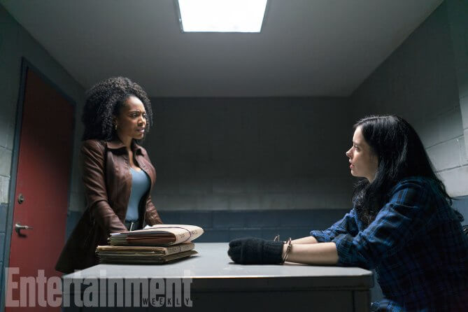 http://ew.com/tv/the-defenders-photos-episodes/simone-missick-as-misty-knight-and-krysten-ritter-as-jessica-jones SARAH SHATZ/NETFLIX