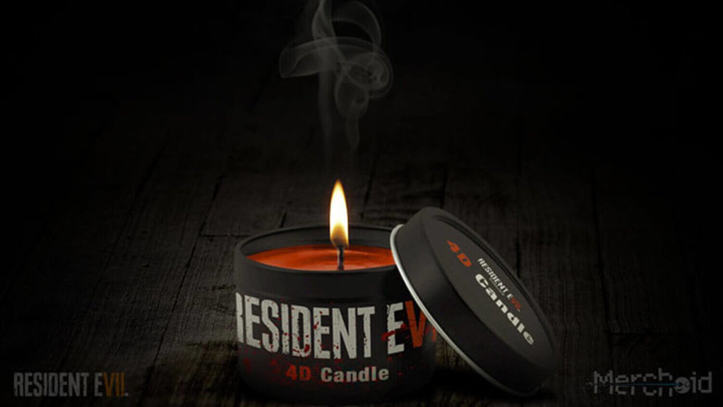 Resident Evil 7: Wood, Sweat and Fears 4D VR Candle
