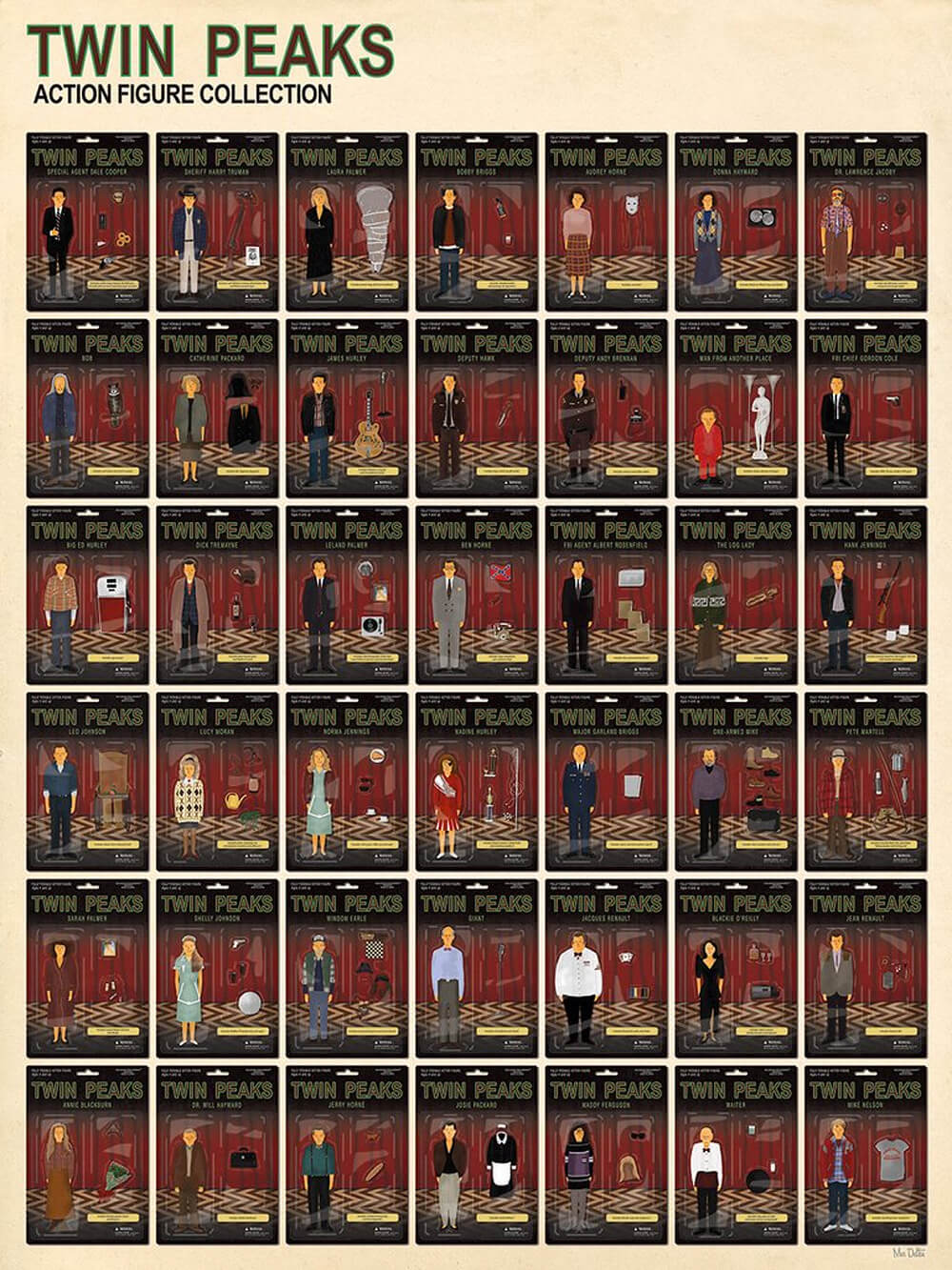Twin Peaks Action Figure Collection