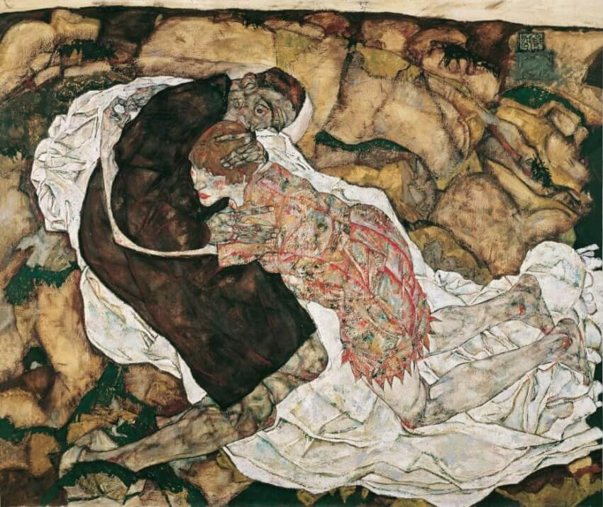 http://www.independent.co.uk/arts-entertainment/art/great-works/great-works-death-and-the-maiden-1915-16-by-egon-schiele-8456208.html