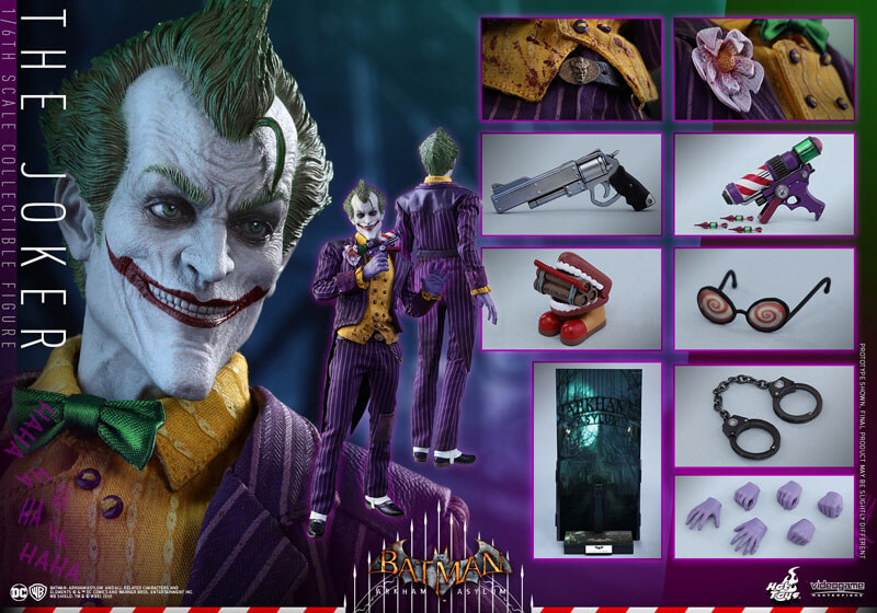 http://www.superherohype.com/news/388707-hot-toys-joker-collectible-figure-from-batman-arkham-asylum#/slide/1