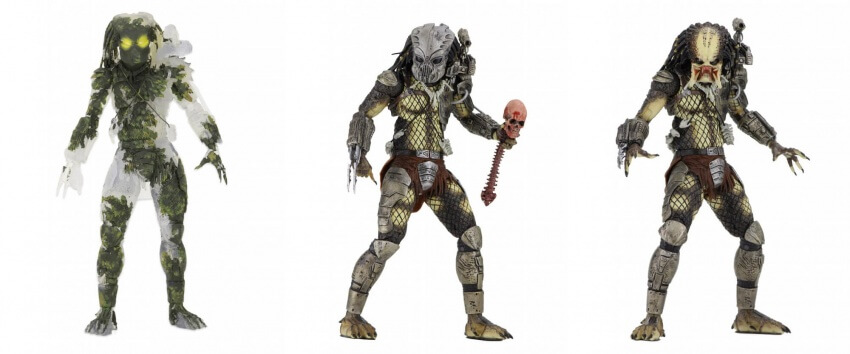 "Predator – 7"" Scale Action Figures – 30th Anniversary Collection"