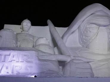 【レポート】「第68回さっぽろ雪まつり」ルーカスフィルム公認!『白いスター・ウォーズ』を体験してきた