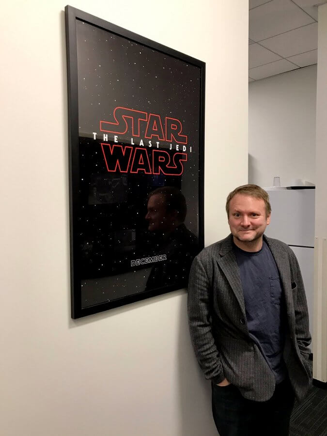 ライアン・ジョンソン監督 http://www.starwarsnewsnet.com/2017/02/rumor-star-wars-the-last-jedi-trailer-when-and-where.html