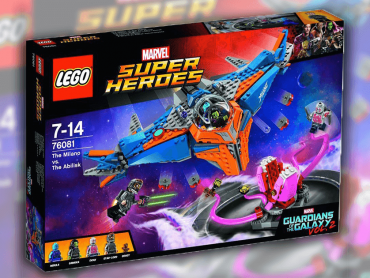 『ガーディアンズ・オブ・ザ・ギャラクシー:リミックス』レゴに見る、マーベル玩具の3タイプ