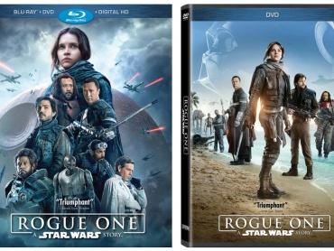 『ローグ・ワン/スター・ウォーズ・ストーリー』Blu-ray/DVD、詳細情報解禁!4/4全米リリース、特典映像はキャラクター尽くし
