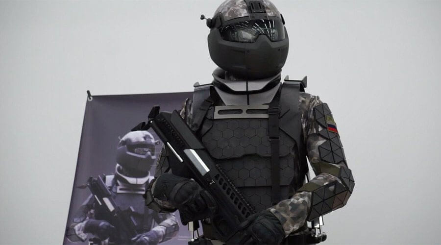 Russian military lab unveils prototype of Star Wars-like combat suit