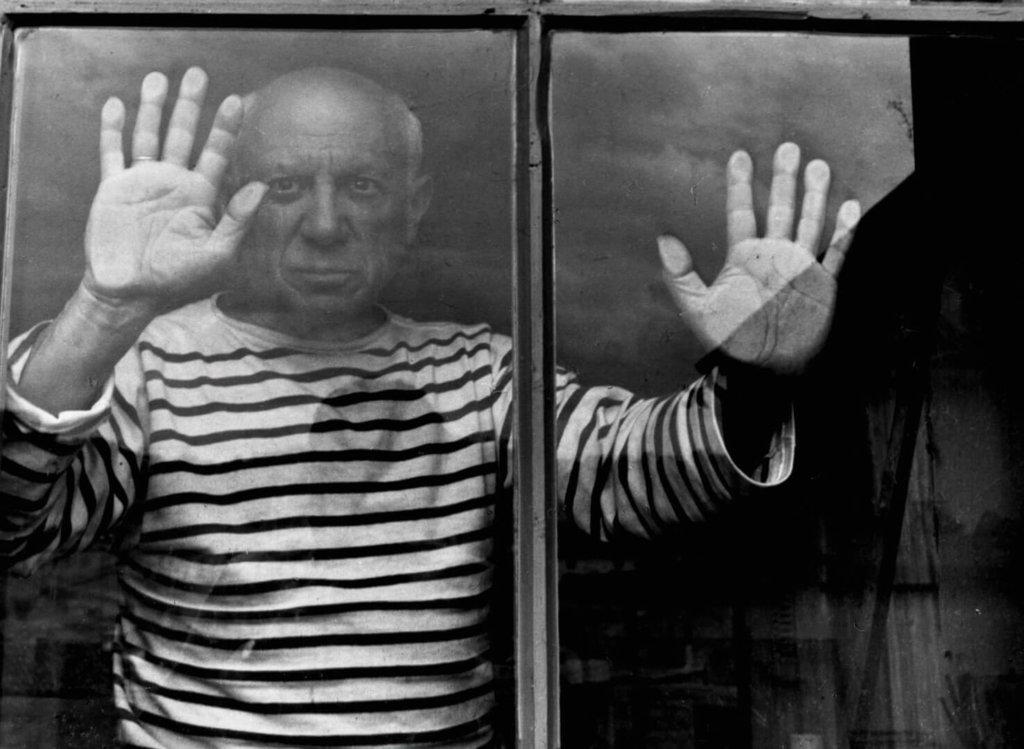 「パリが愛した写真家」サブ2(ピカソ 1952)
