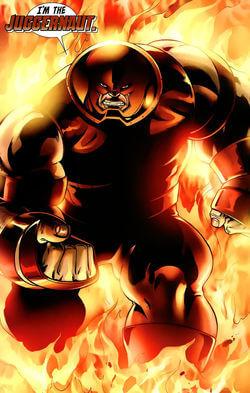 参考:ジャガーノート http://marvel.wikia.com/wiki/Juggernaut ©MARVEL