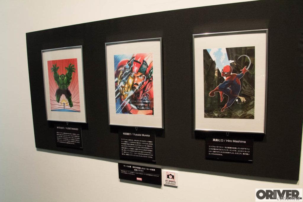 『マーベル展 時代が創造したヒーローの世界』六本木ヒルズ 解説