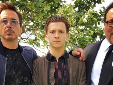 ロバート・ダウニー・Jr.&トム・ホランド『スパイダーマン:ホームカミング』再撮影中?それとも……