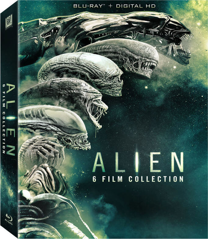 Alien: 6 Film Collection Blu-ray